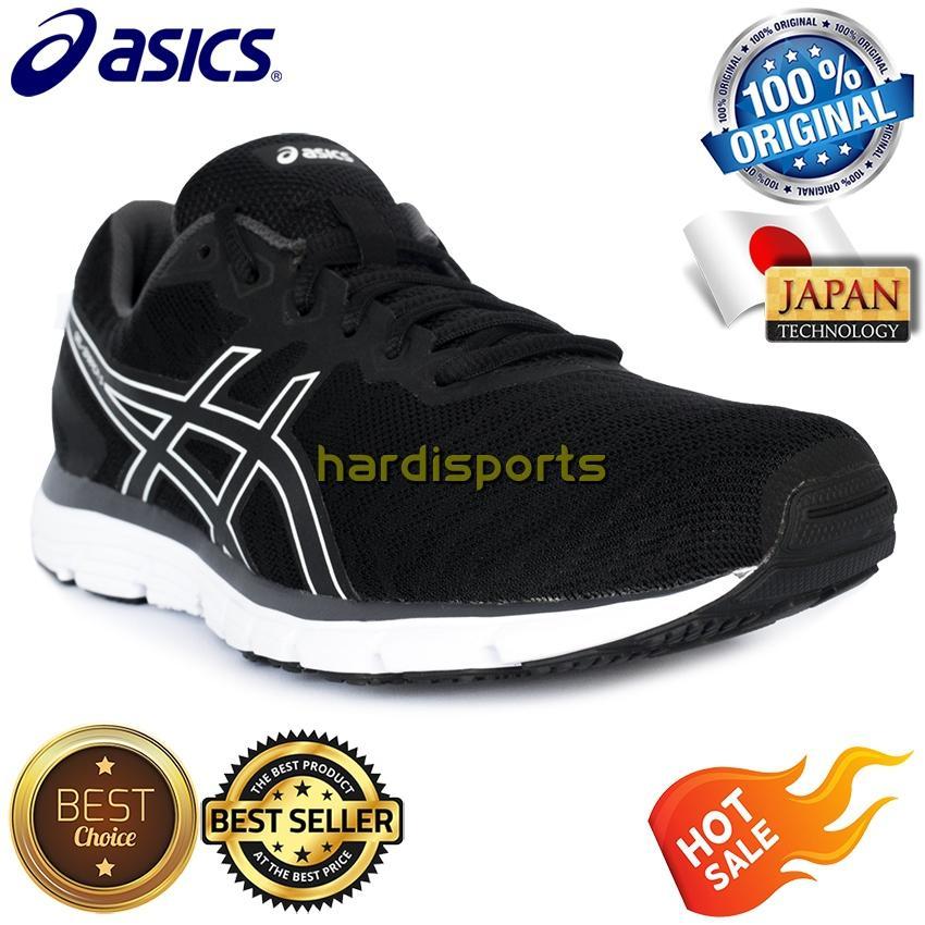 Sepatu Running Pria Asics Gel Zaraca 5 T6G3N-9090 - Black