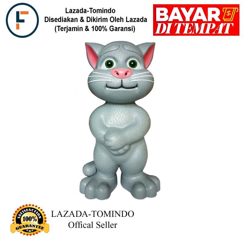Tomindo Tomcat Cerita & Menyanyi (Bahasa Indonesia)(ukuran Besar)(+/- 30 cm) / mainan anak / mainan edukasi