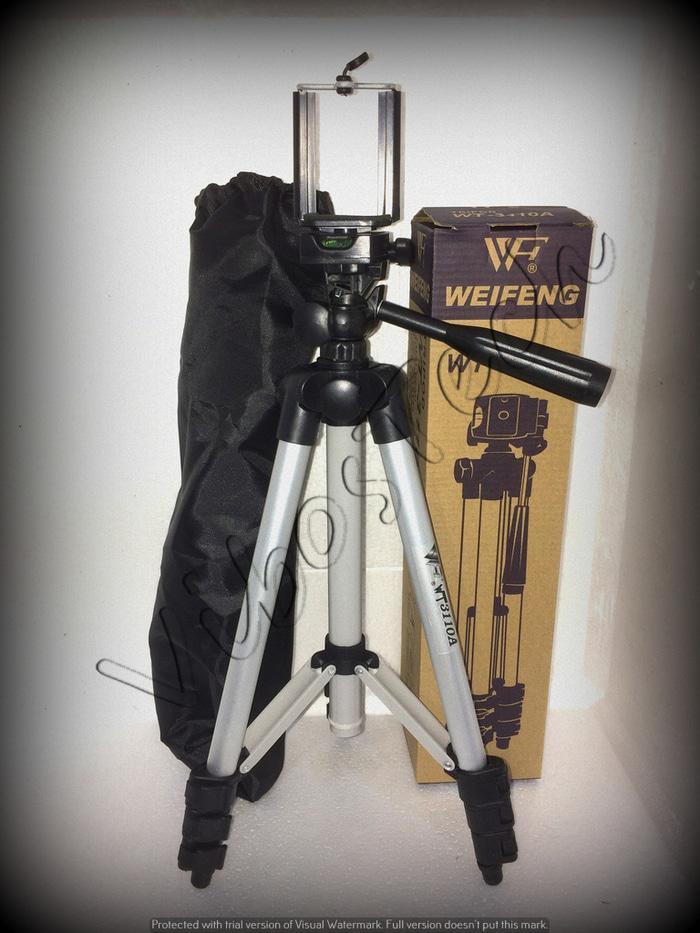 Tripod WEIFENG WT-3110A bukan Tefeng / Hofeng / dll