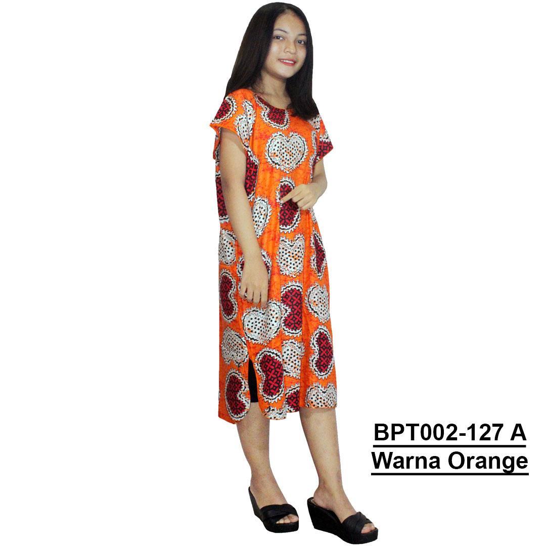 Midi, Daster Midi, Dress Santai, Baju Tidur, Piyama, Atasan Batik (BPT002-127) Batikalhadi Online