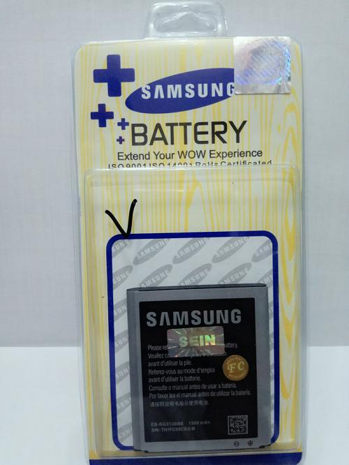 Baterai Batt Batre Battery Samsung V G313, V+ , Ace 3 S7270 S7272 dan Ace 4 Bagus, Bukan Yg Murah