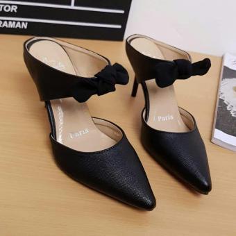 Pencari Harga RSM Sepatu Heels Wanita S-416A- Hitam terbaik murah - Hanya  Rp40 d3e9807eee