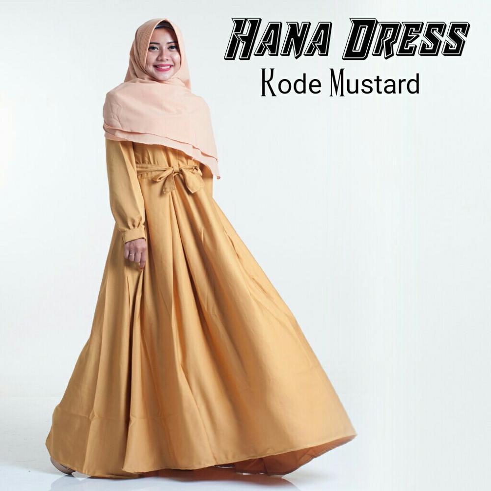 Gamis Long Dress Maxi Tangan Panjang Wanita Dewasa - Gamis polos baloteli / Lengan Plipit Bunga Busana Muslim Wanita Gamis Murah Baju Lebaran Baju Pesta