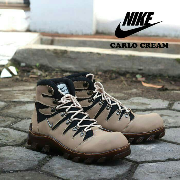 Sepatu Boots - Sepatu Nike Carlo Safety Sol Jahit Pria