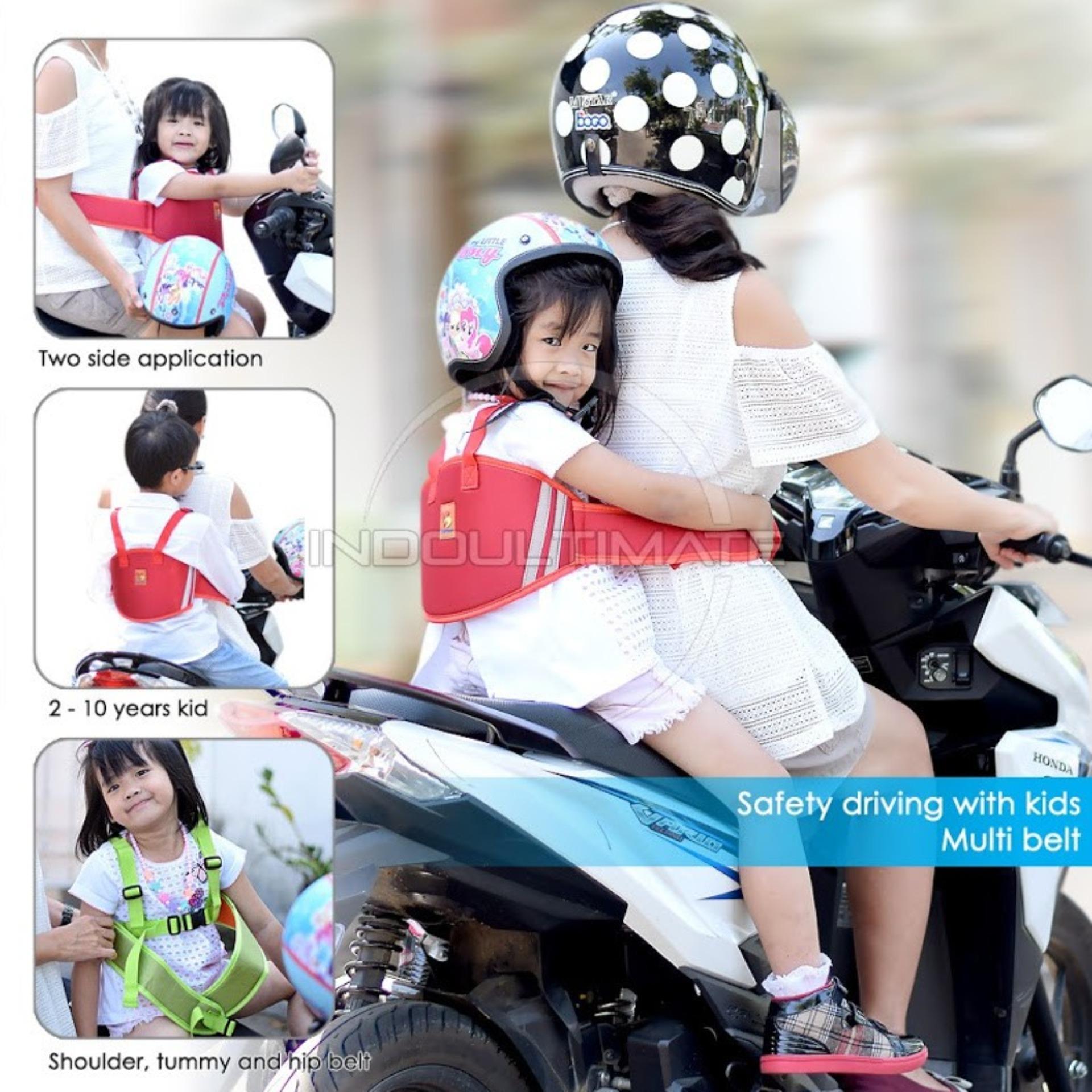 Sabuk Bonceng Motor Anak Premium Pengaman Boncengan Motor Anak Anti Jatuh BY SB01