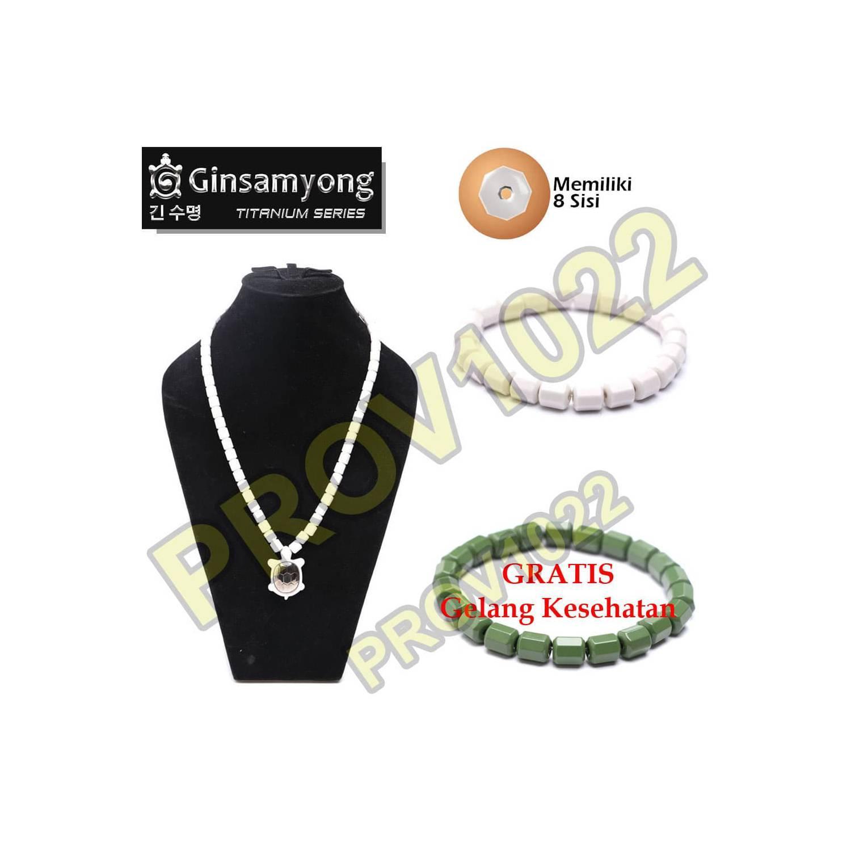 Ginsamyongkalung Kesehatan Putih Daftar Harga Terbaru Terlengkap Kalung Ginsamyong Rp 2336000