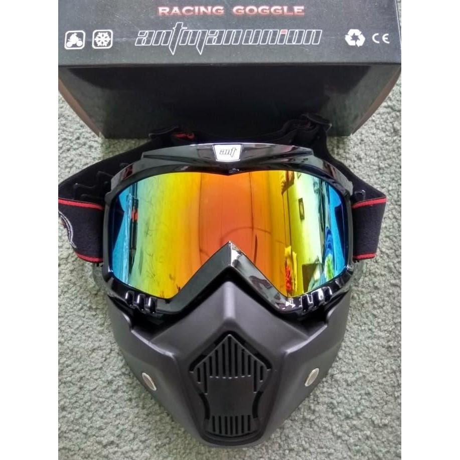 Snail Kaca Mata Goggle Motocross Full Masker Mx18 Pelangi Hitam Helm Face Mx309 Motif Skull Kilap Mask Cross Ant Man Wmp 0940 Fdefudf