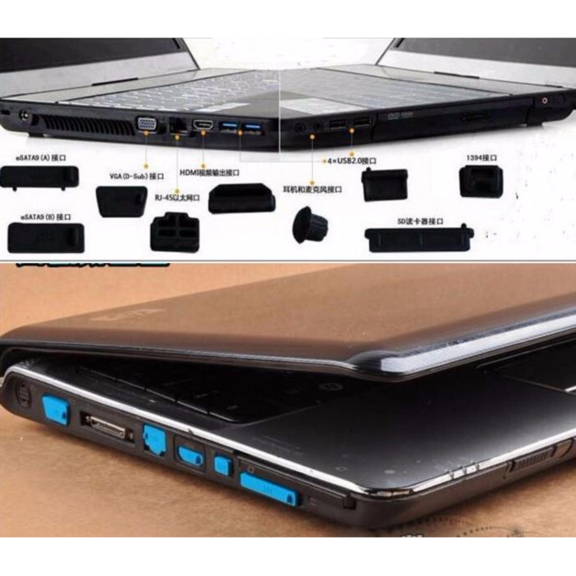 Jual Beli Universal Original Kabel Power Laptop Notebook 150 Cm 1 Set Karet Penutup Port Lubang Untuk