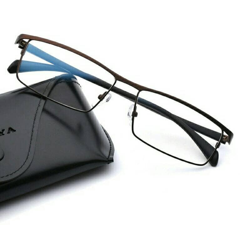 Frame kacamata FF22 Grey Full Frame Kaca mata Minus plus - 2 . 0b13200608