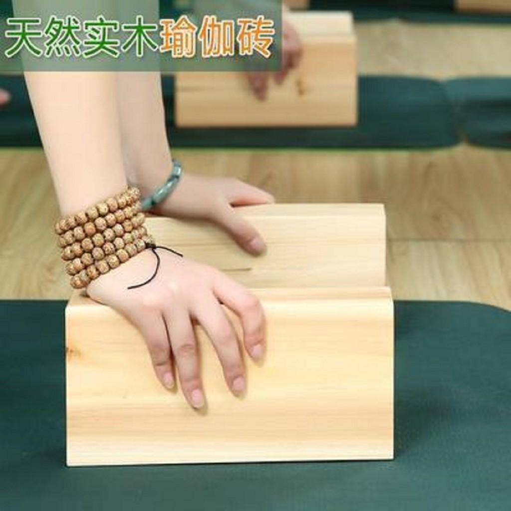 Balok Yoga Block Yoga Kayu Solid M541