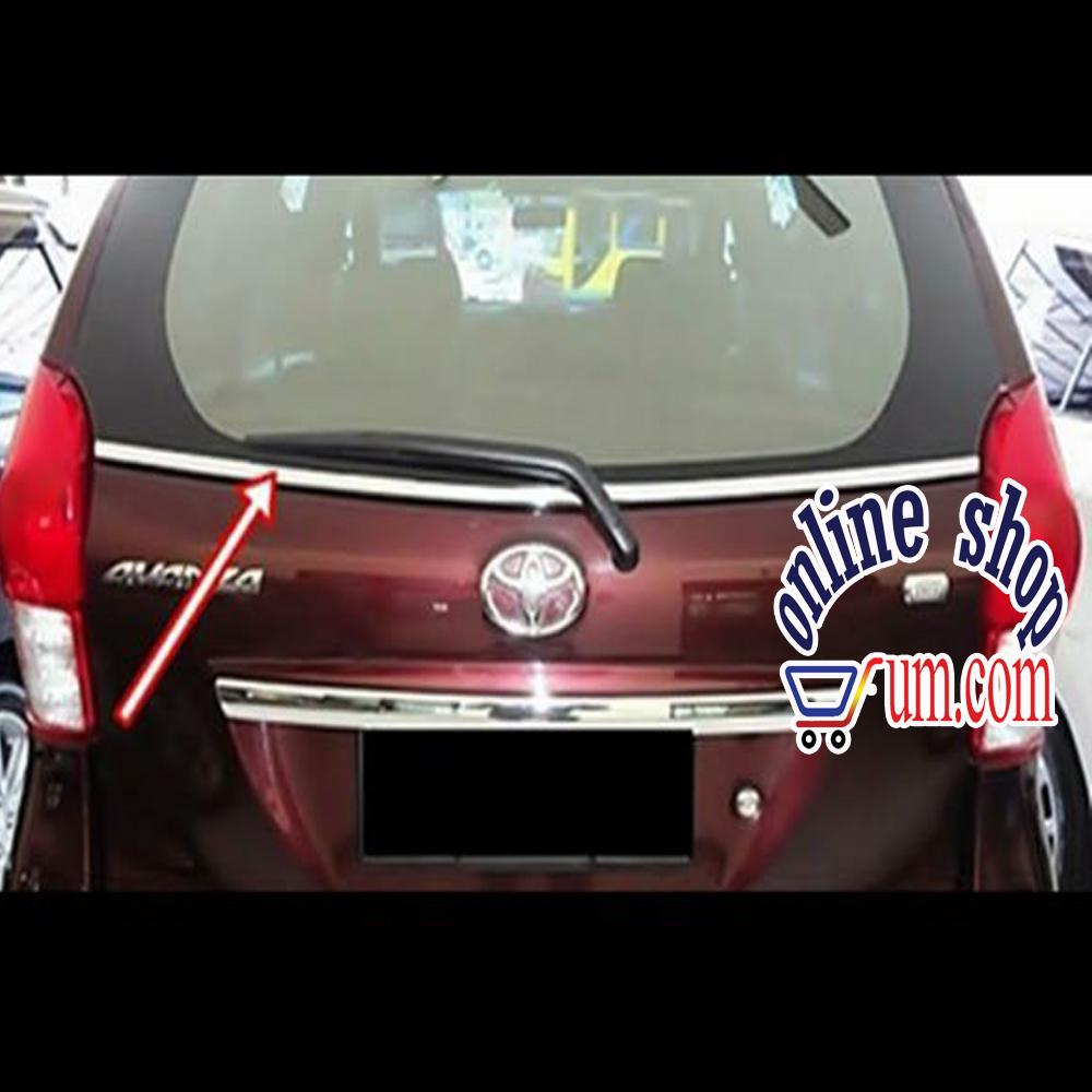 List Chrom Kaca Belakang All New Avanza Xenia Veloz