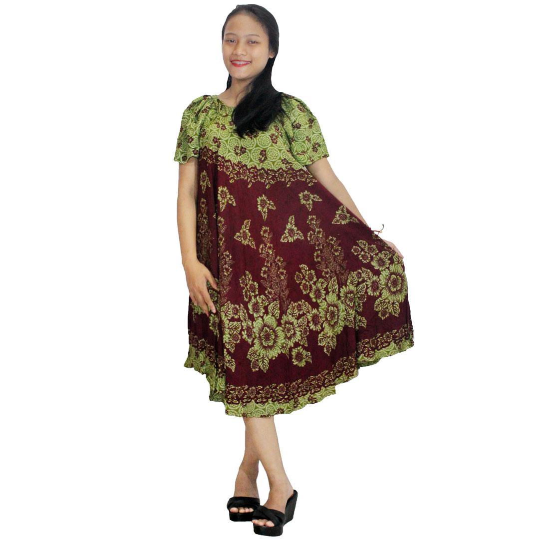 Toko Indonesia Perbandingan Harga Batik Pandowo Limo 18 05 Daster Payung Print Dpt005 14 Klok Baju Tidur Piyama Leher O 40 Batikalhadi Online