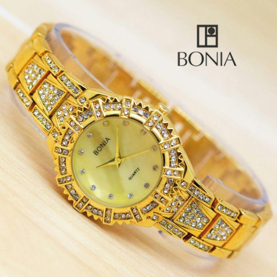 Bonia B839 3331s Jam Tangan Analog Wanita Daftar Harga Terbaru Silver Bn10198 2315s Detail Gambar Mini Diamond Rantai Anti Air Grosir Murah