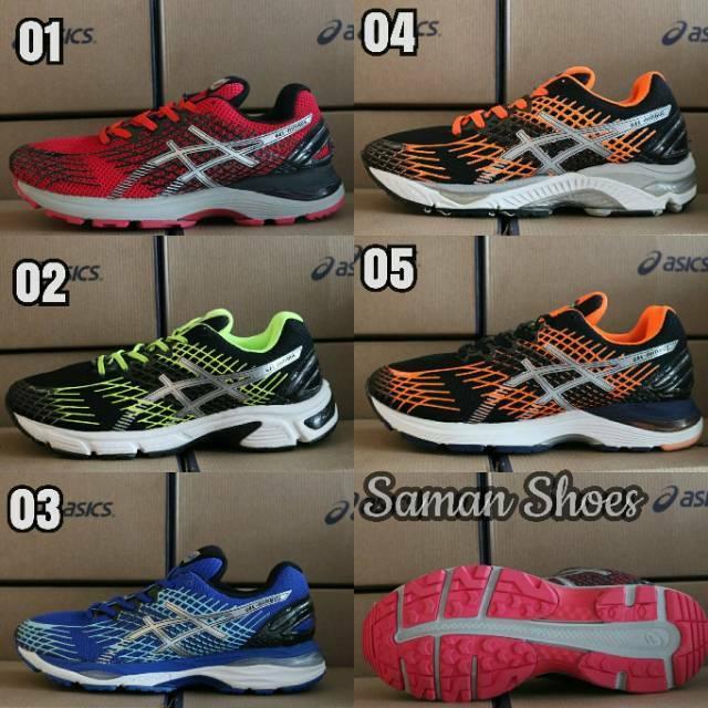 Sepatu Pria Asics Gel Nimbus Original Indonesia .  Sepatu Lari volly  Running Gym Jogging Olahraga