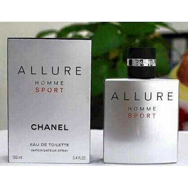 Parfum Original Chanel Allure Homme Sport EDT 100 ML ~ No Box Promo
