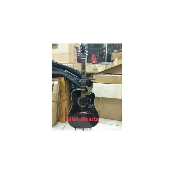 Gitar Akustik Yamaha F1000 Jumbo Black Murah Jakarta Buat Pemula