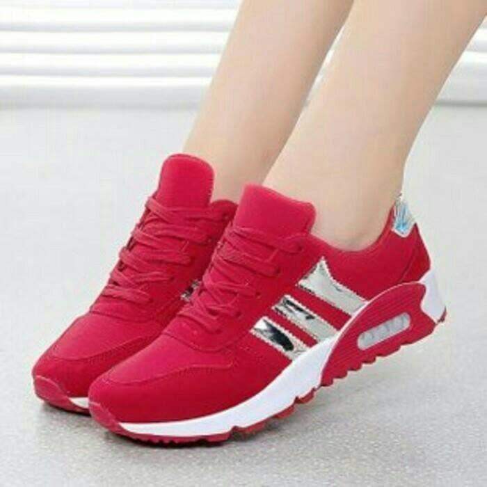 Promo Sepatu Olahraga Wanita - Cewek-Perempuan Adidas Jogging /Jalan/Running Gratis Ongkir