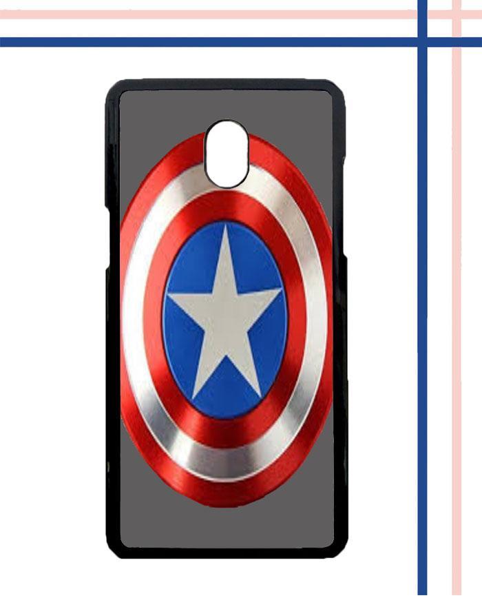 Casing HARDCASE Bergambar Motif Kapten Amerika Background Grey K0060 untuk Handphone Samsung Galaxy J7 PRO SM-J730 Case