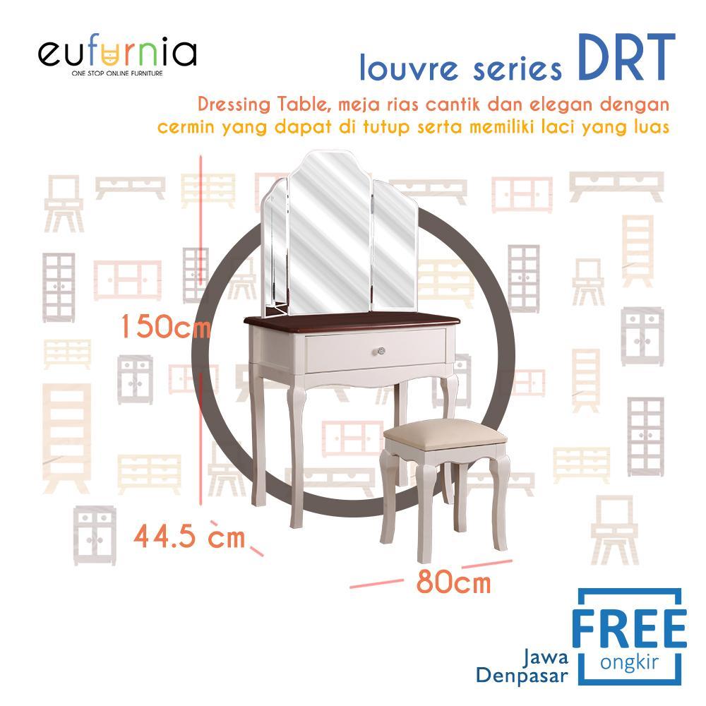Eufurnia Olympic Louvre Series Dressing Table Meja Rias European Style - DRT 0871133