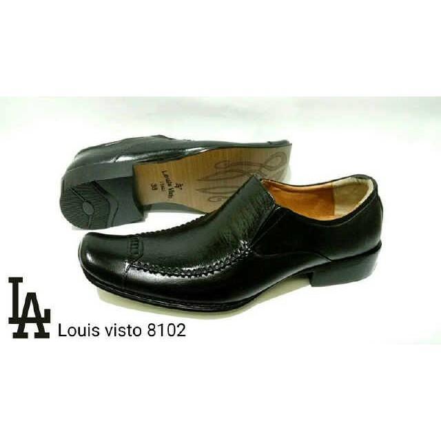 Louis Visto Sepatu Pria Formal Kulit Asli Model Lv 206 Black Spec Source · Rp 441