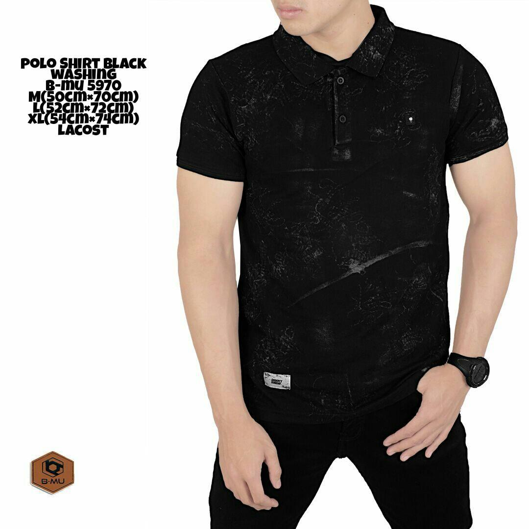 the most - Poloshirt Hitam Washing/kaos kerah hitam corak washing baju pria murah kaos polo shirt cowok distro Lazada Birthday