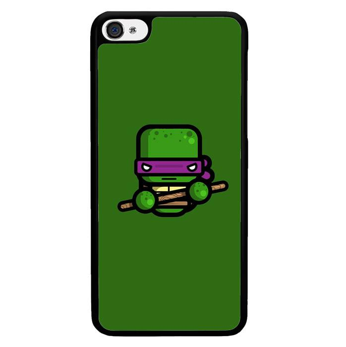 Mini Donatello O0343 Iphone 4S Custom Case