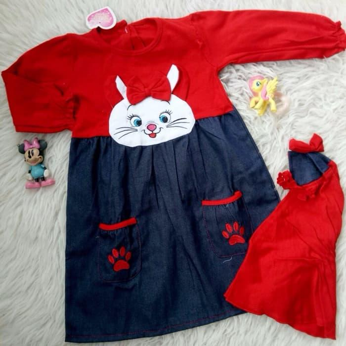 Gamis Baju Muslim Bayi Anak - Gamis Bayi Anak Rabbit