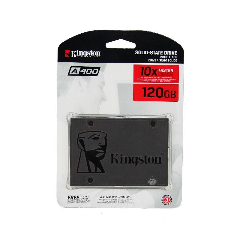Promo SSD Kingston A400 120GB- SATA 2.5