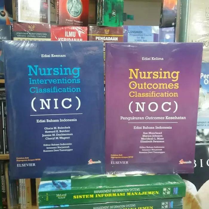 NIC NOC 1 set 2 buku