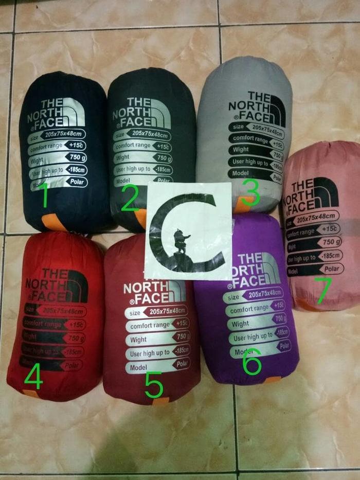sleeping bag polar waterproof JWS TNF MURAHH !!! - ZbMDRy