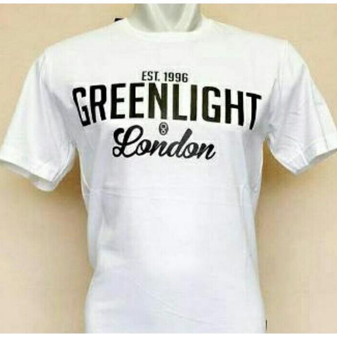 T-Shirt Kaos Pria Greenlight London - Sale Promo!!