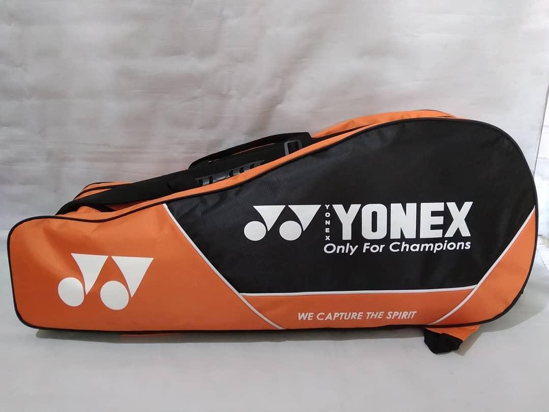 Tas Raket Badminton Yonex Resleting 2