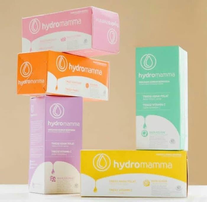 PROMO 12pcs HydroMamma-Minuman Ibu Hamil;Tanpa Pemanis & Perasa Buatan