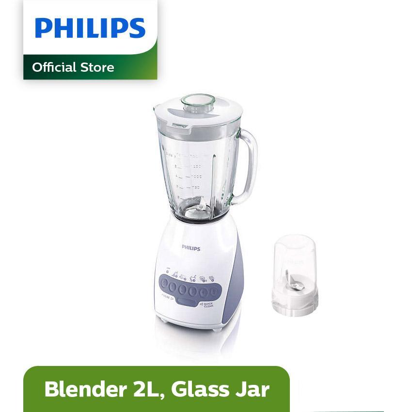 Philips HR 2116 Blender Tango Kaca - Putih
