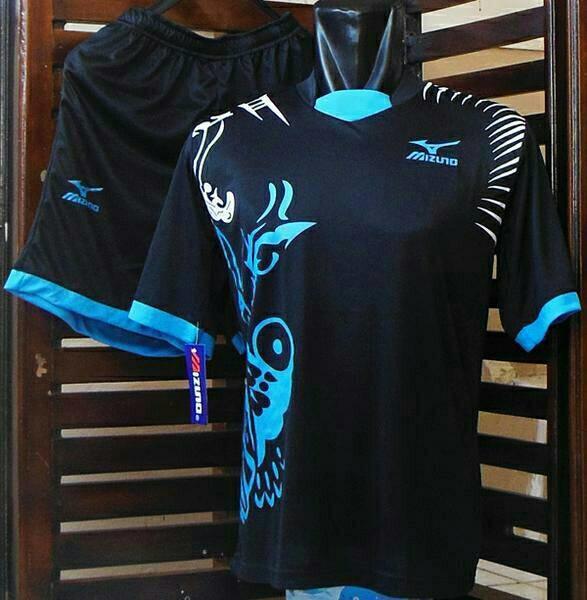 Setelan Volly Mizuno / Kaos Olahraga / Jersey Futsal / Kostum Bola