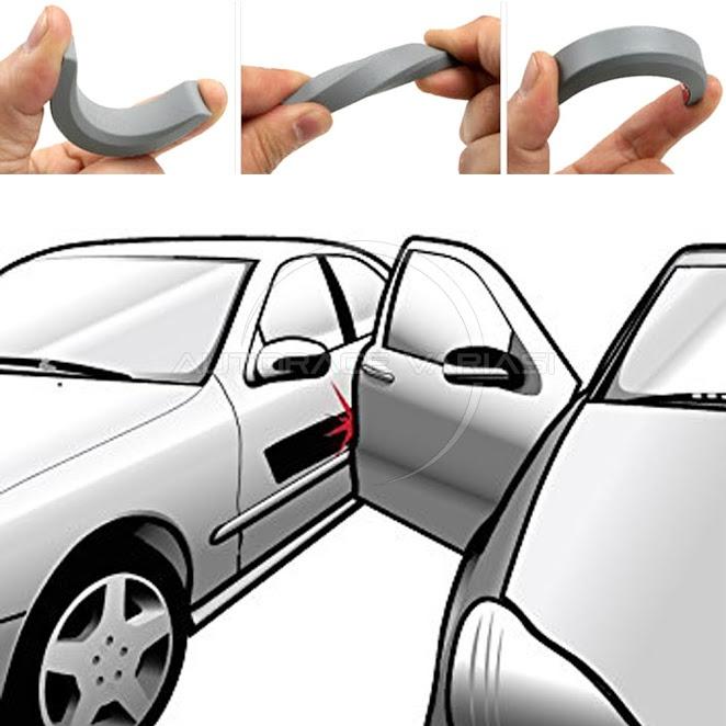 Autorace Doorguard Pelindung Ujung Pintu Protection RALLIART Source · Penampilan mobil langsung kelihatan berbeda