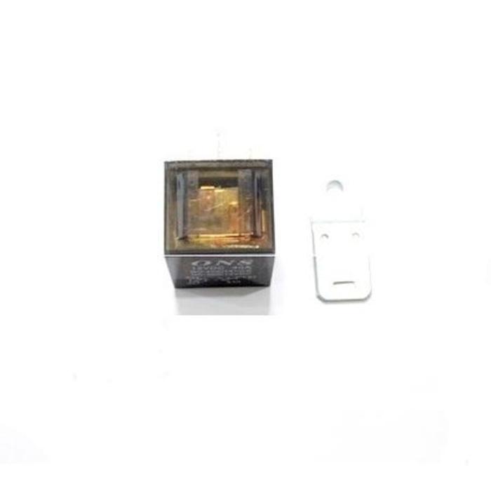 2 Relay 4 Kaki 40A Transparan Untuk Klakson / Alarm Remote / Lampu