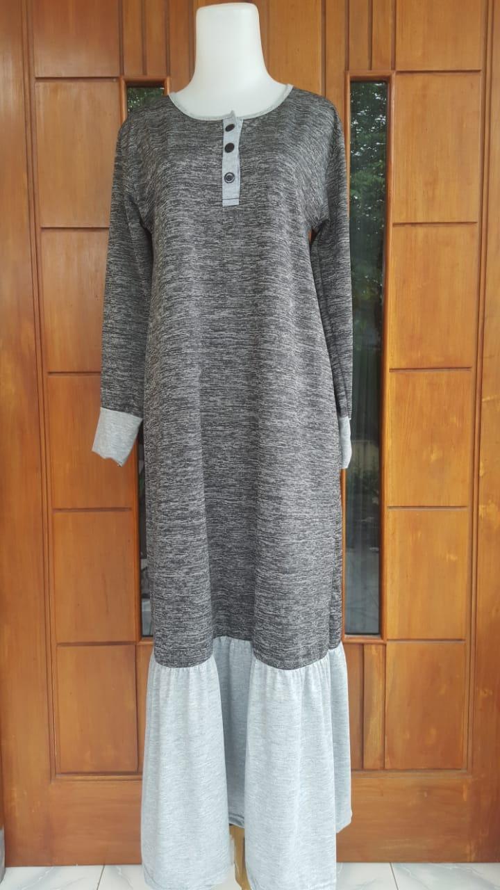 Daftar Harga Gamis Kaos Terbaru 2018 Bahan Daily All Size Fit To L