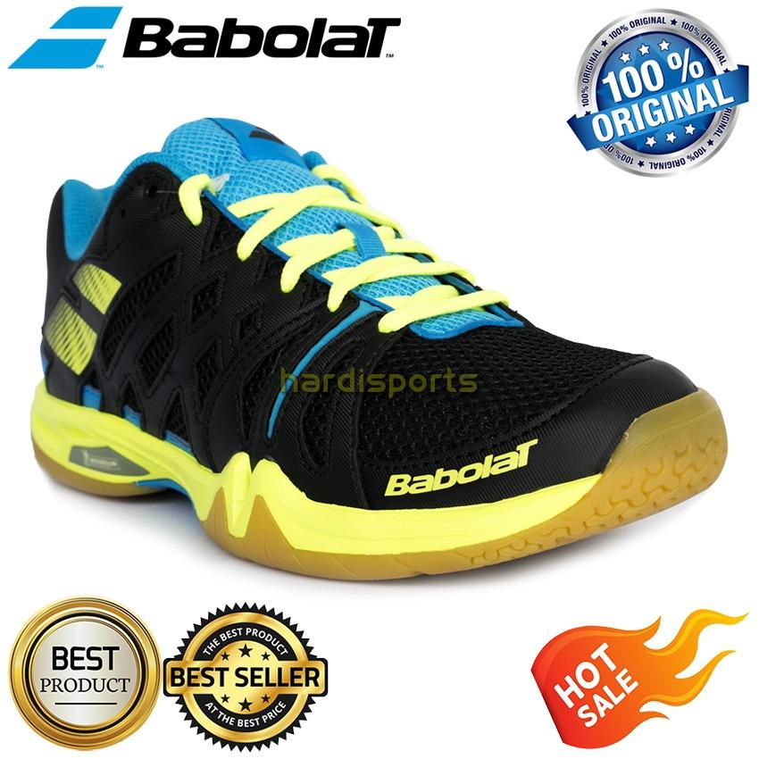 Sepatu Pria Badminton - Volley - Tenis Meja Babolat Shadow Team (rubber by Michelin)
