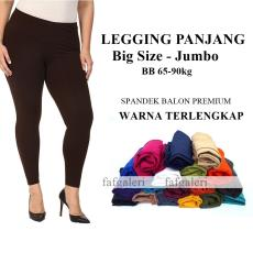 Celana Legging Panjang Big SIze - Jumbo Bahan Spandek Premium 4eb038a45e