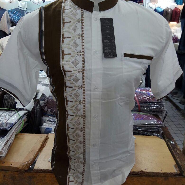 Baju Muslim Original Baju Koko Pria Katun Patris Super Baju Atasan Pria Panjang Pakaian Lebaran Casual Baju Koko Pria Modern Atasan Trendy Model Terbaru