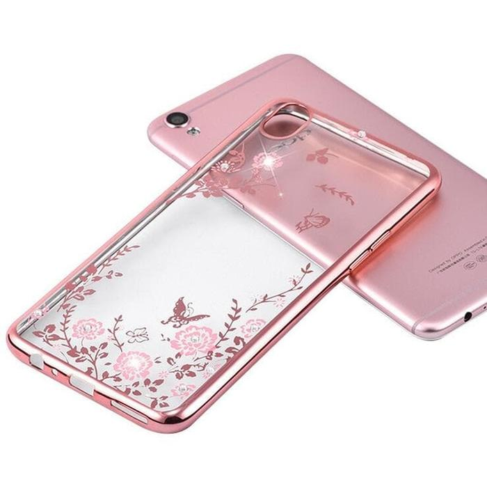 SOFT CASE WINIFRED FLOWER CHROME FOR REDMI 3 PRO / 3S