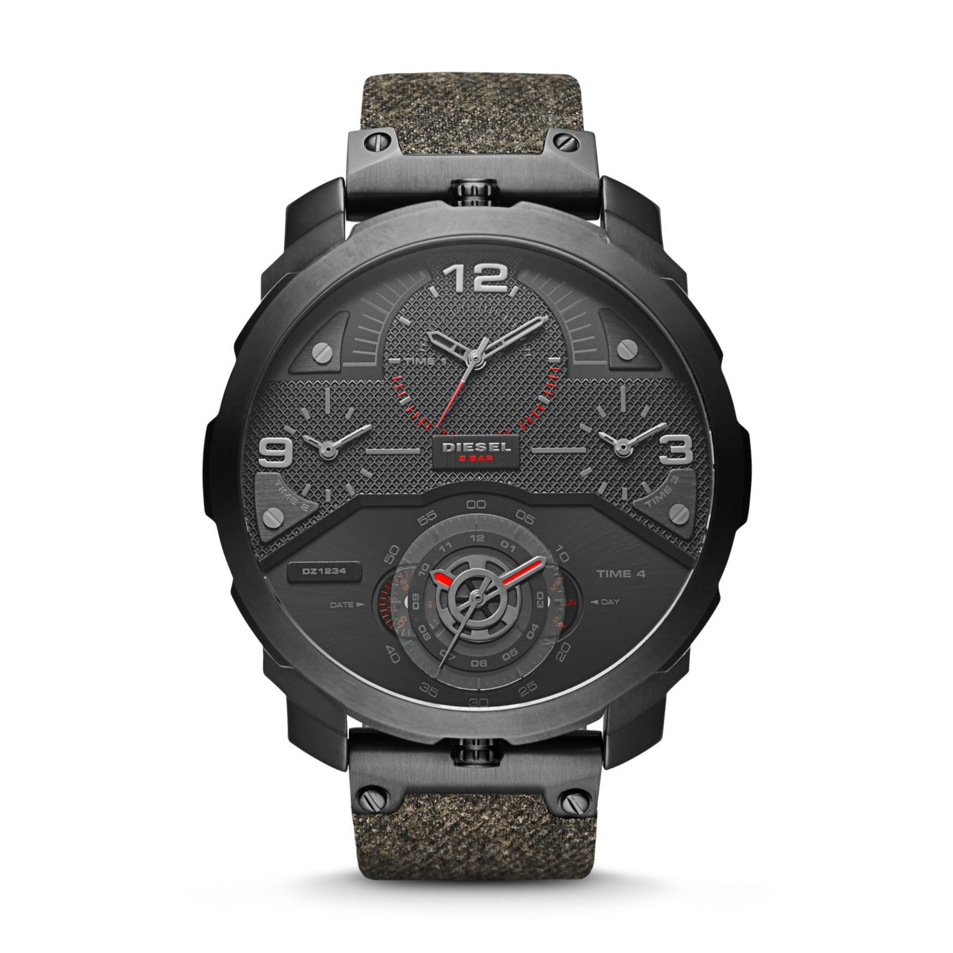 Diesel SBA Machinus – Black Round Dial 55mm – Leather Strap – Black – Jam  Tangan Pria – DZ7358 – SL 9bfb952aa3