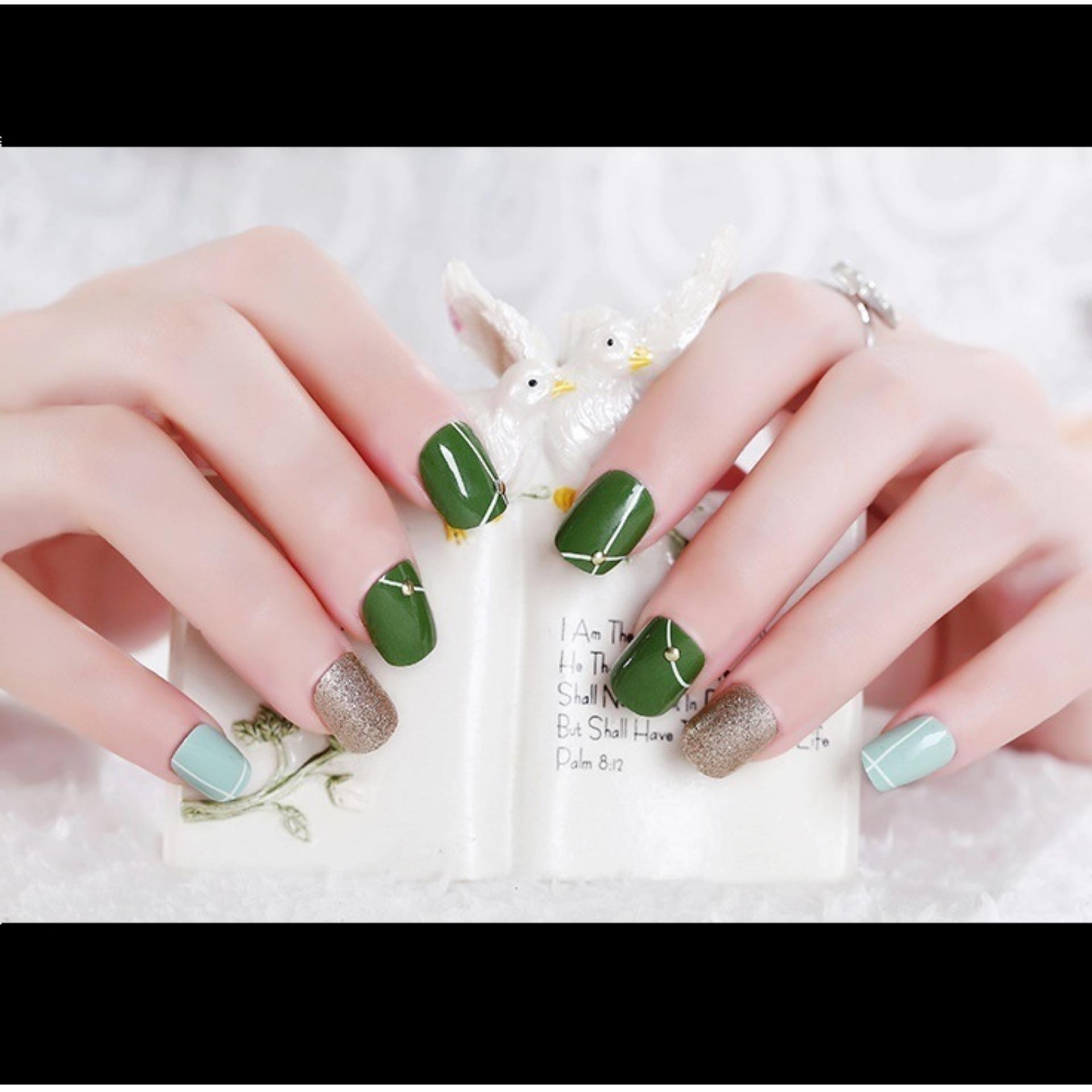 Kelebihan Yunail Shishang Cermin Kopi Warna Kuku Palsu Terkini Jbs Nails Wedding 3d A39 Pengantin A3