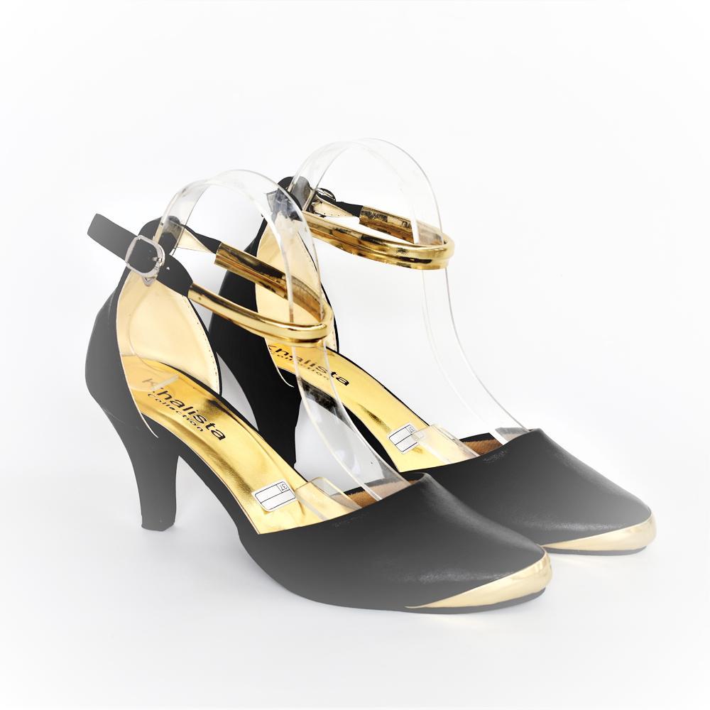 ... Roundtoe Flatform Pantofel Source Khalista Collections Block Heels Source Khalista Collections Heels Women Angkle Strap Synthetis