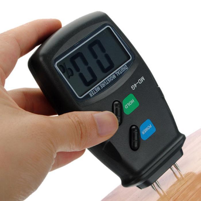 Alat Ukur Kadar Air Moisture Meter DIgital 4 Pin Untuk Kayu Tembok