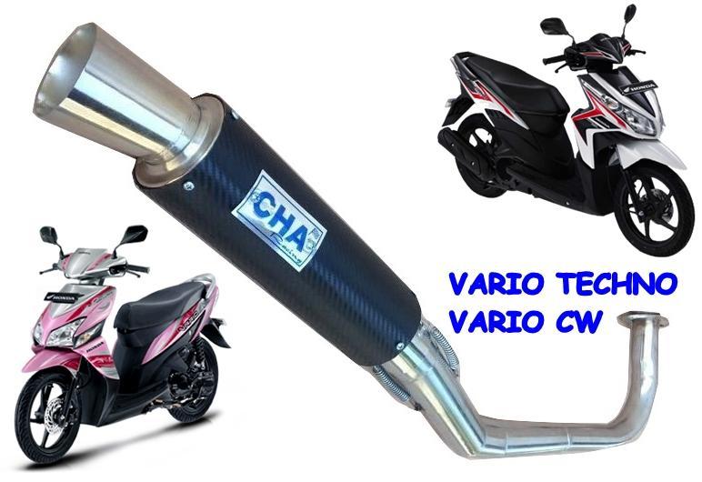 ... Karpet Vario Techno Hitam Daftar Harga Terlengkap Indonesia Source Knalpot Motor VARIO TECHNO & CW