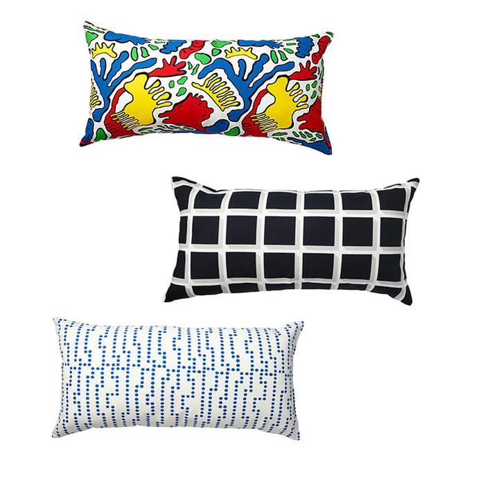 IKEA AVSIKTLIG Bantal warna warni / bantal sofa / bantal tidur kepala - qlKy5D