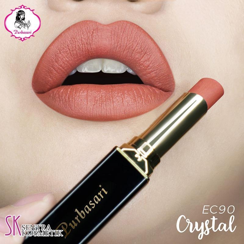 Purbasari Lipstick Collor Matte 90 CRYSTAL
