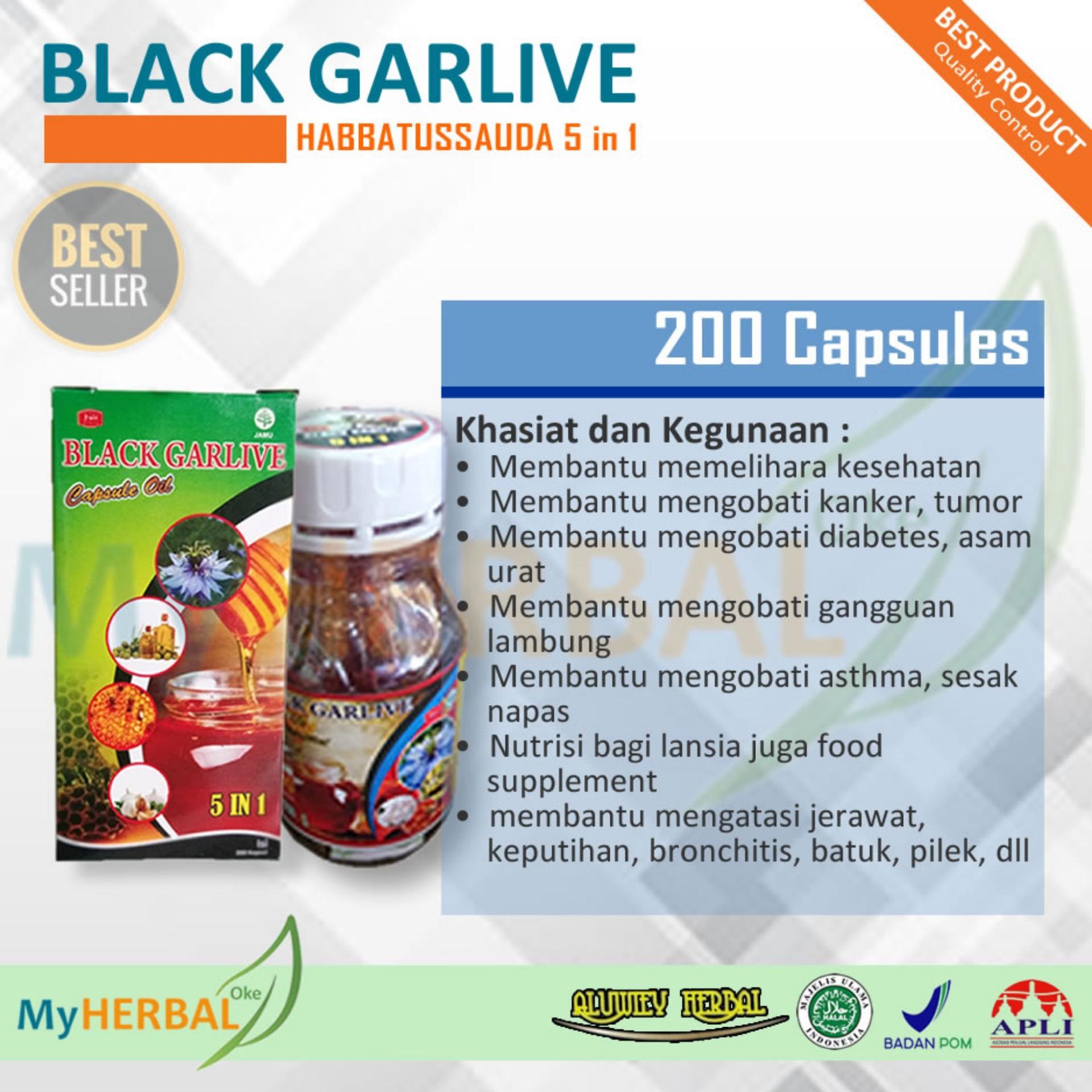 Daftar Harga Minyak Zaitun Habbatussauda Termurah Obat Kuat Kamil 3 In 1 Isi 200 Kapsul Black Garlive 5in1 Jinten Hitam Propolis